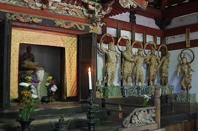 山梨仏像ツアー 瑜伽寺